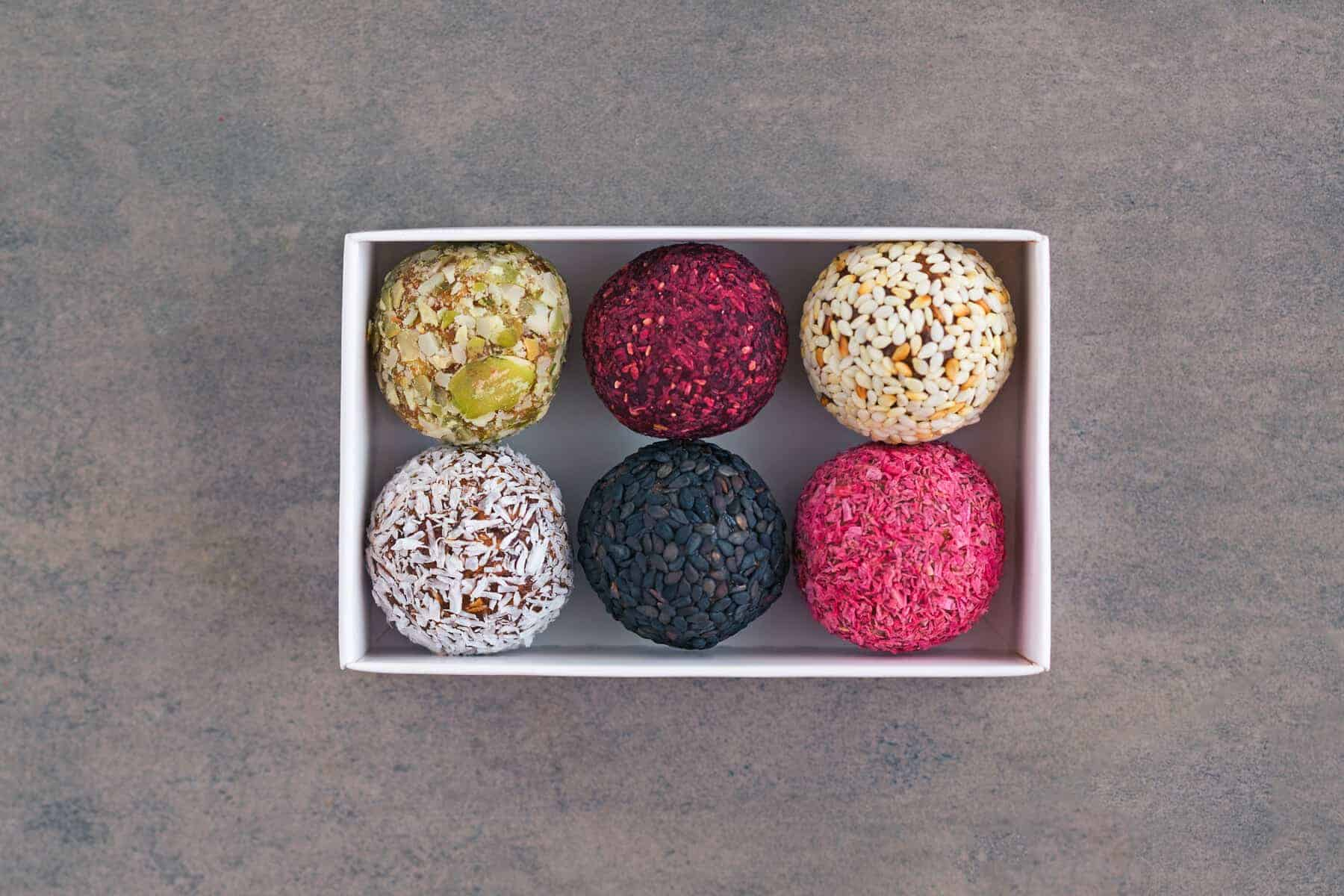 Selbst gemachte Energy Balls –Foto: Shutterstock.com/July Prokopiv