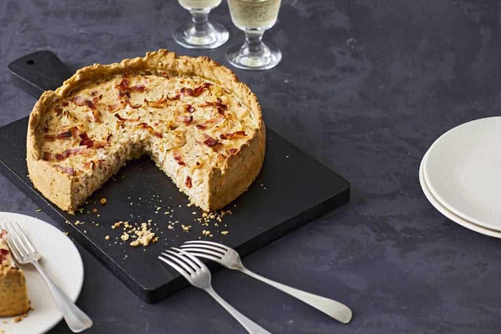 Zwiebel-Speck-Kuchen mit dem Thermomix® – Foto: Jorma Gottwald