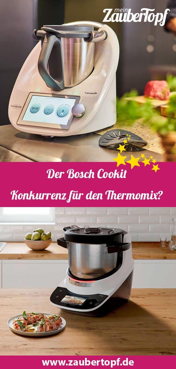 Der Vergleich: Bosch Cookit vs. Thermomix® – Fotos: PR