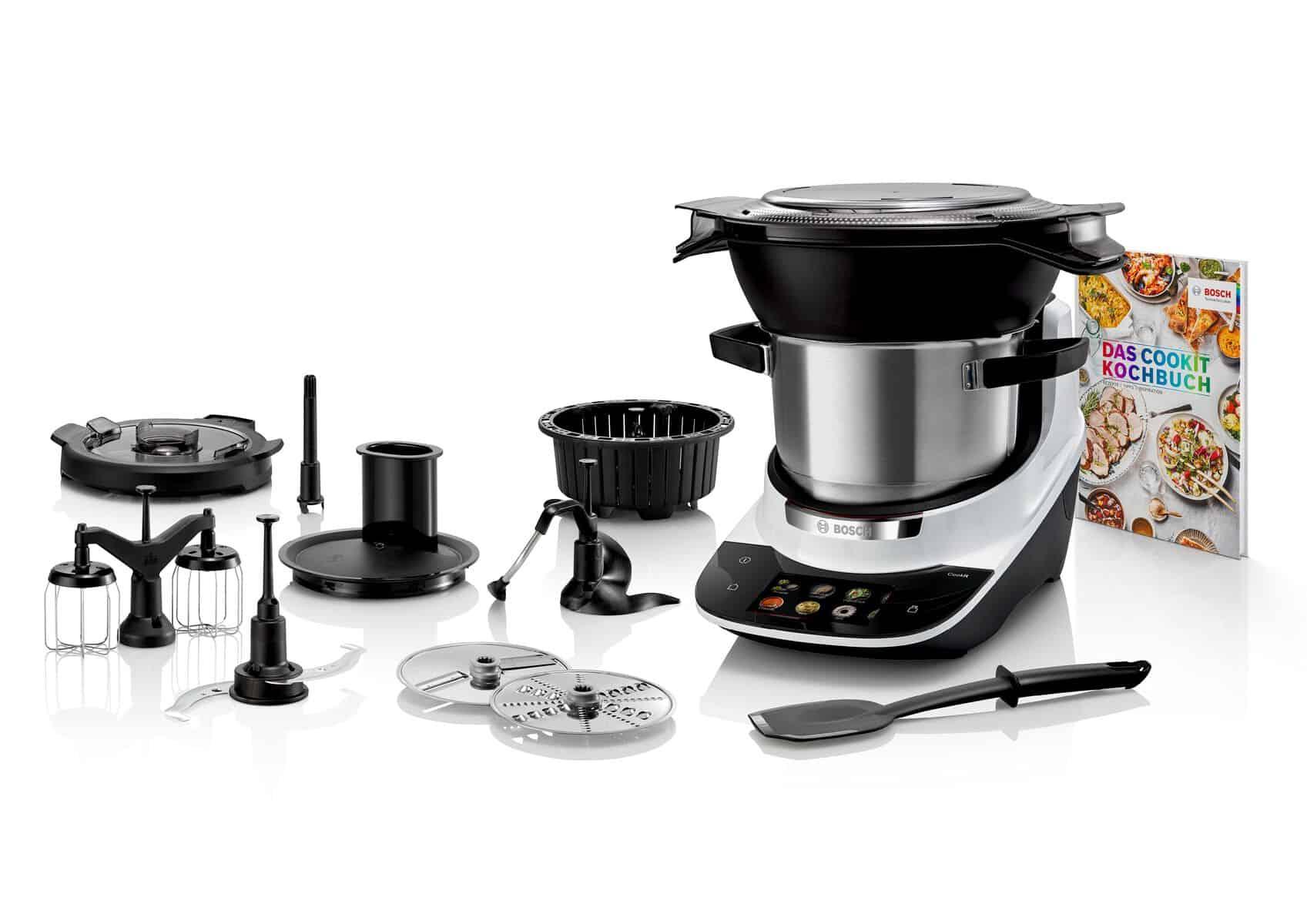 Der Bosch Cookit und sein Zubehör –Foto: PR
