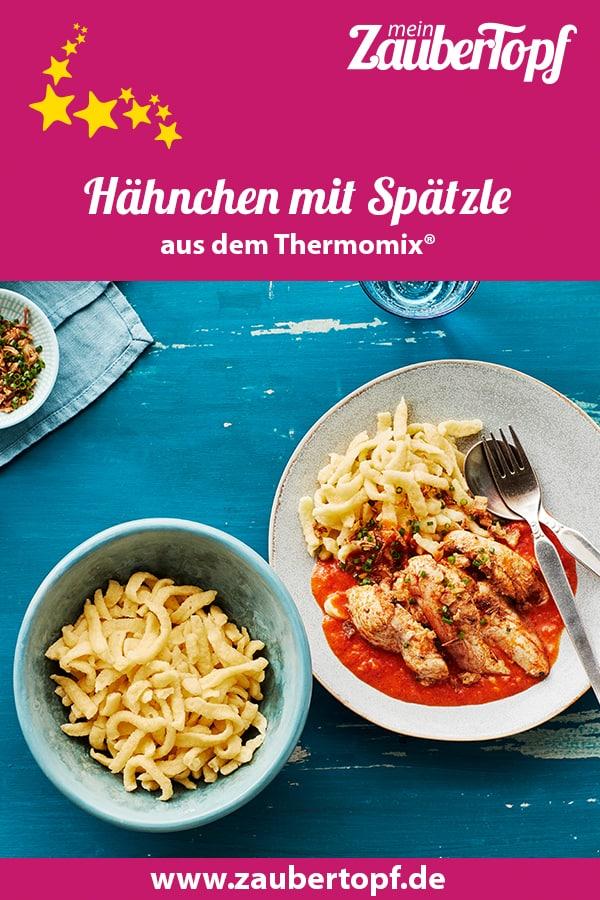 Hähnchen mit Spätzle aus dem Thermomix® –Foto: Jorma Gottwald