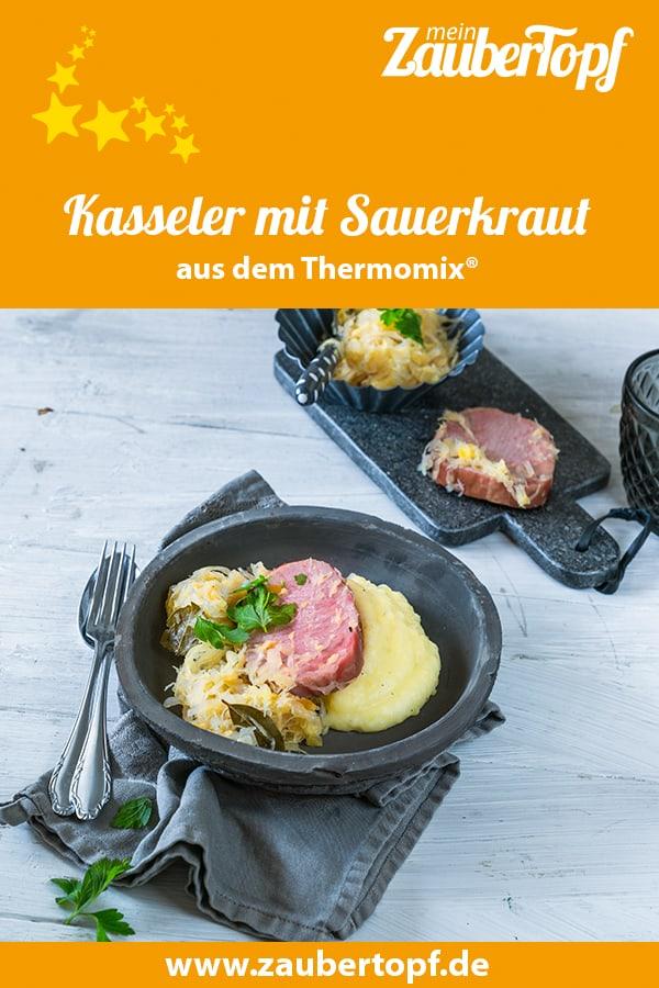 Kasseler mit Sauerkraut aus dem Thermomix® –Foto: Tina Bumann