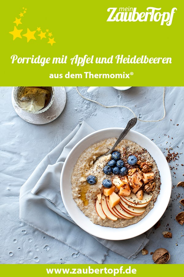 Porridge mit Apfel – Foto: Getty Images/Hannes Eichinger