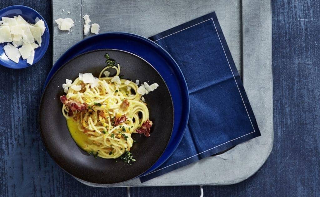 Spaghetti mit Gemüse-Sahnesoße aus dem Thermomix® - Foto: Jorma Gottwald