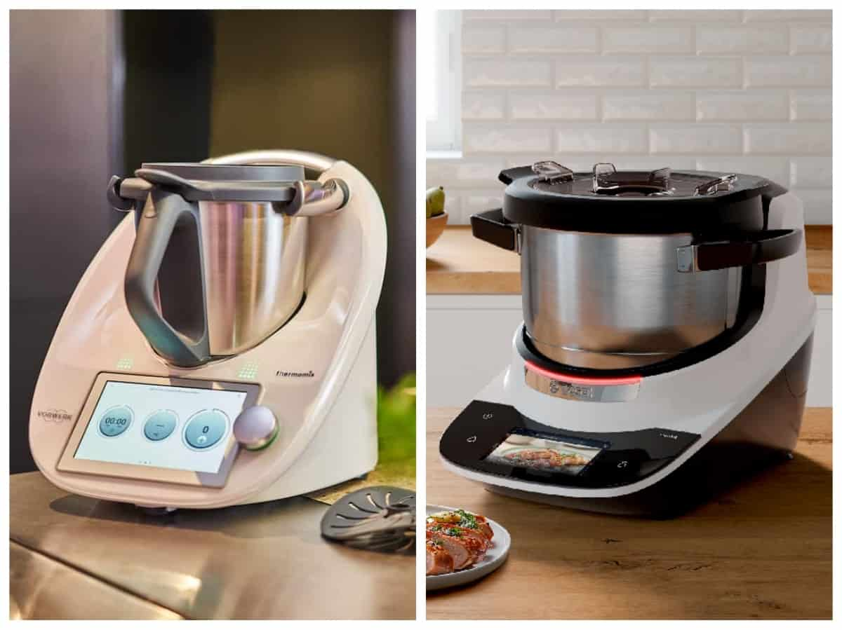 Thermomix® TM6 vs. Bosch Cookit –Fotos: PR