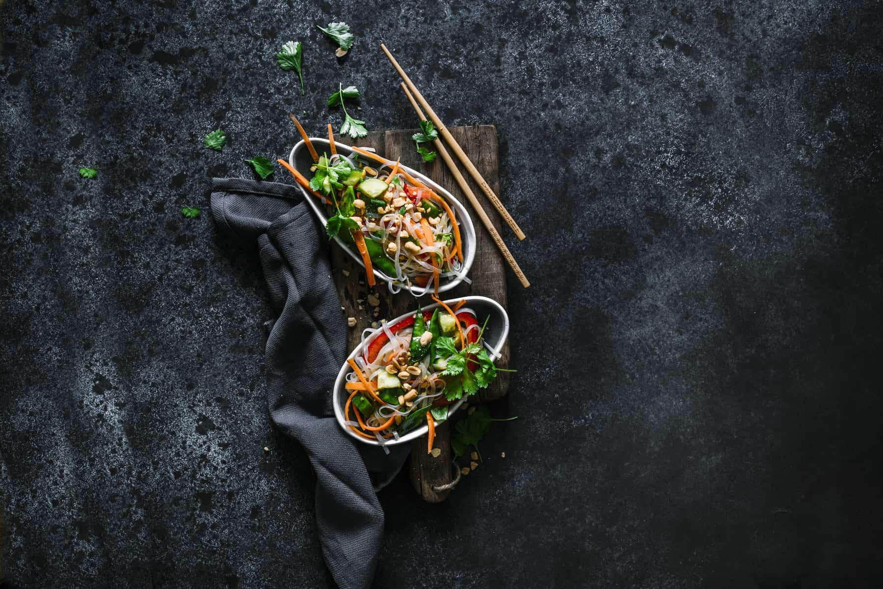 Asiatischer Glasnudelsalat mit dem Thermomix® –Foto: Tina Bumann
