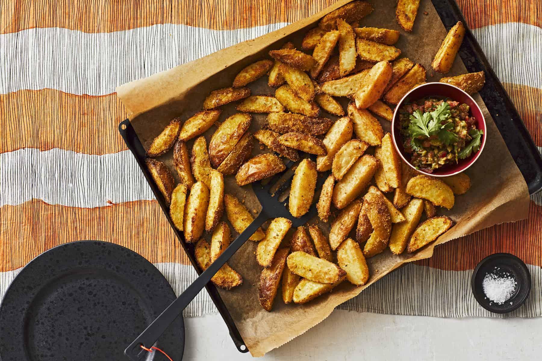 Kartoffelspalten mit Guacamole aus dem Thermomix® –Foto: Jorma Gottwald