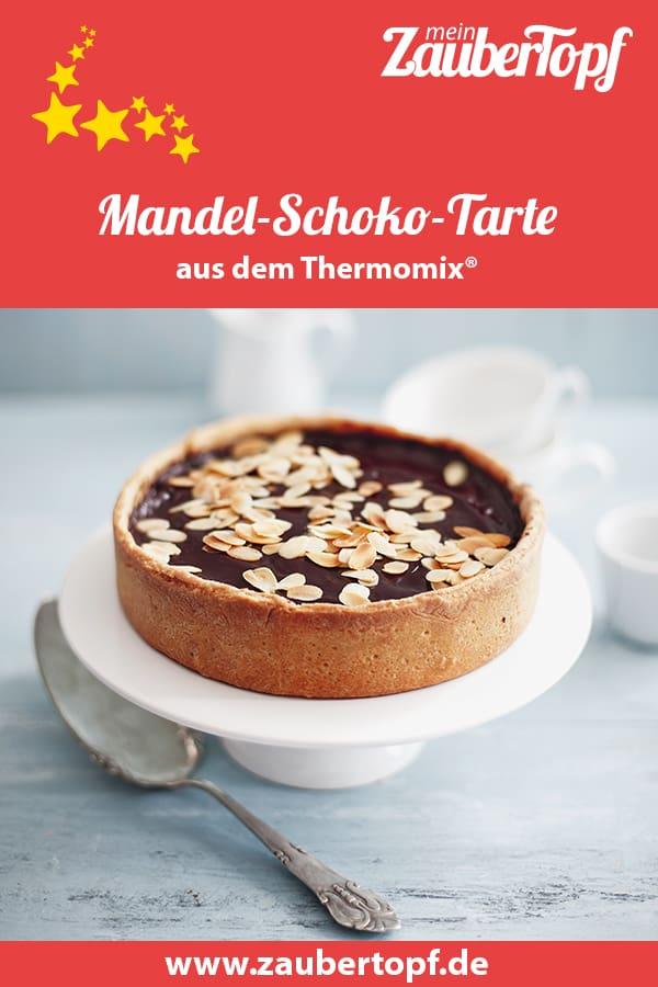 Mandel-Schokolade-Tarte aus dem Thermomix® - Foto: Ira Leoni