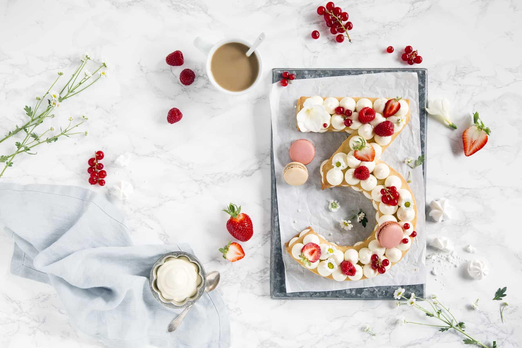 Numbercake mit dem Thermomix® – Foto: Anna Gieseler
