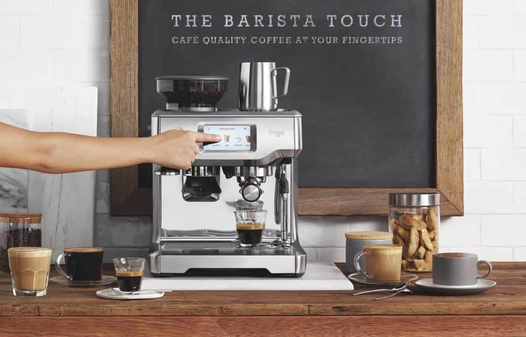 Siebdruck-Espressomaschine gewinnen - Foto PR