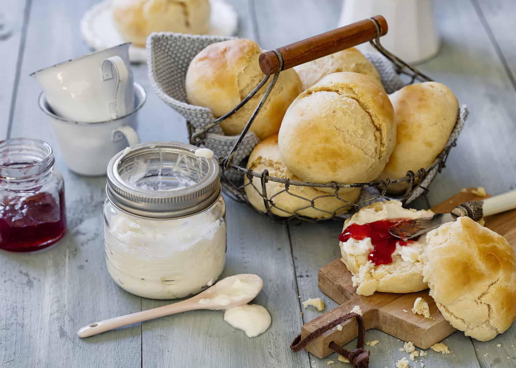 Schnelle Joghurtbrötchen mit dem Thermomix® – Foto: Frauke Antholz
