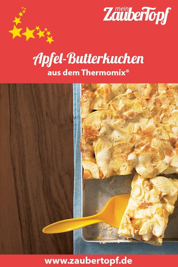 Apfel-Butterkuchen mit dem Thermomix® –Foto: Matthias Haupt