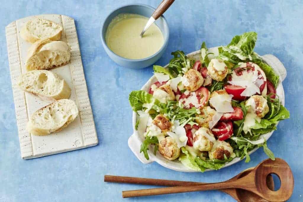 Caesar-Salad mit Hühnchen –Foto: Jorma Gottwald