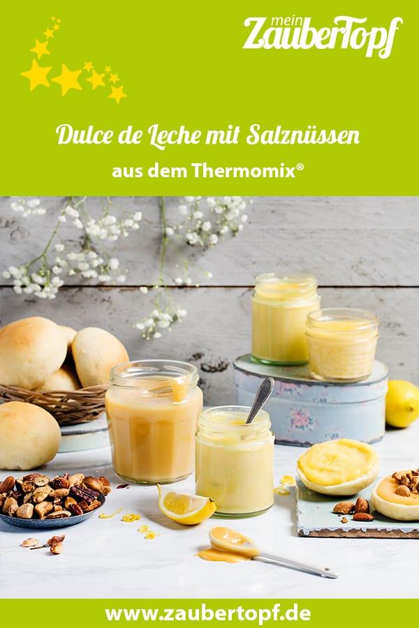 Dulce de Leche mit Salznüssen aus dem Thermomix® - Foto: Anna Gieseler