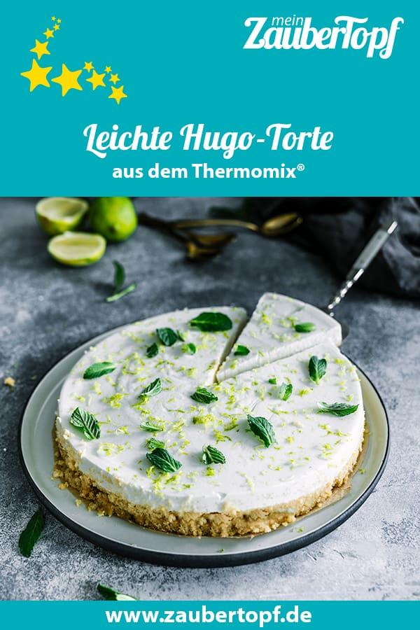 Leichte Hugo-Torte aus dem Thermomix® - Foto: Tina Bumann
