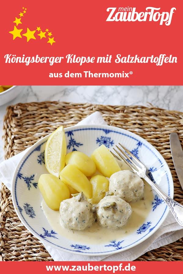 Königsberger Klopse mit Salzkartoffeln aus dem Thermomix® – Foto: Alexandra Panella