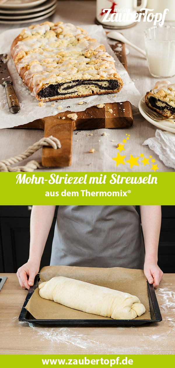 Mohn-Striegel mit Streuseln aus dem Thermomix® – Foto: Anna Gieseler