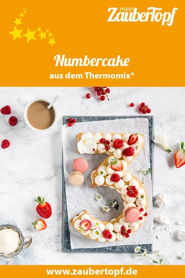 Numbercake aus dem Thermomix®- Foto: Anna Gieseler
