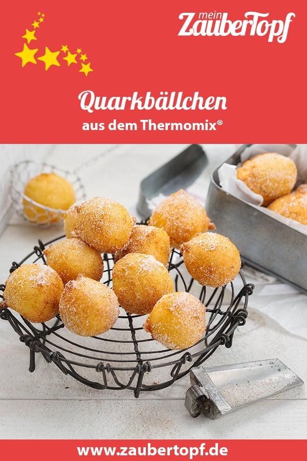 Quarkbällchen mit dem Thermomix® –Foto: Frauke Antholz