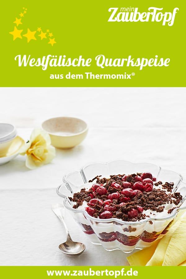 Westfälische Quarkspeise mit dem Thermomix® – Foto: Jorma Gottwald