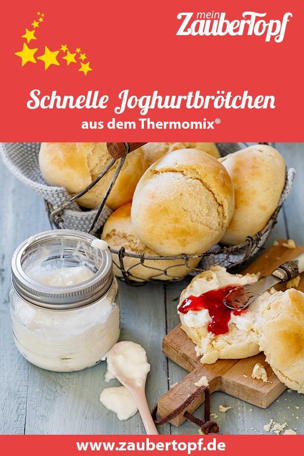 Schnelle Joghurtbrötchen aus dem Thermomix® – Foto: Frauke Antholz
