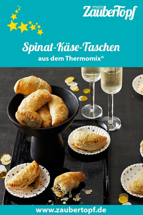 Spinat-Käse-Taschen mit dem Thermomix® - Foto: Jorma Gottwald