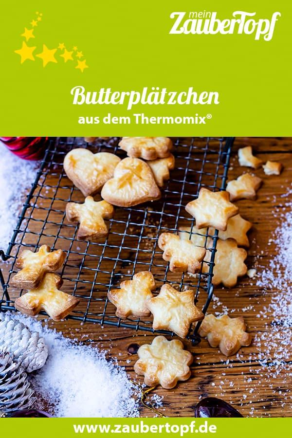 Butterplätzchen aus dem Thermomix® - Foto: Sophia Handschuh