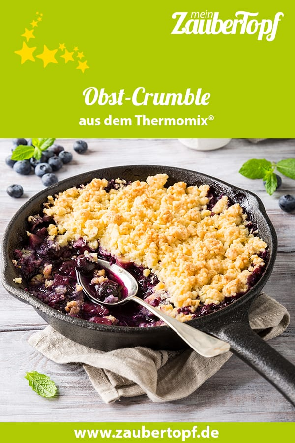 Obst-Crumble mit dem Thermomix® - Foto: gettyimages/ Merinka