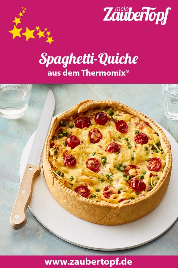 Spaghetti-Quiche aus dem Thermomix® - Foto: Jorma Gottwald