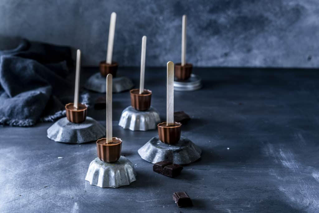 Trinkschokolade am Stiel mit dem Thermomix® –Foto: Tina Bumann