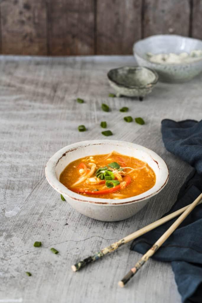 Vegetarische Pekingsuppe mit dem Thermomix® –Foto: Tina Bumann