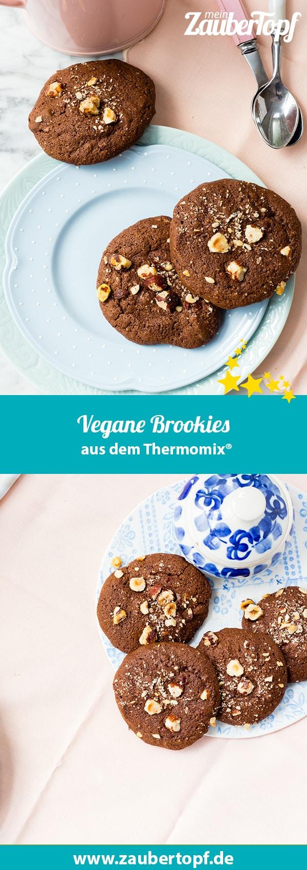 Vegane Brookies mit dem Thermomix® –Foto: Sophia Handschuh
