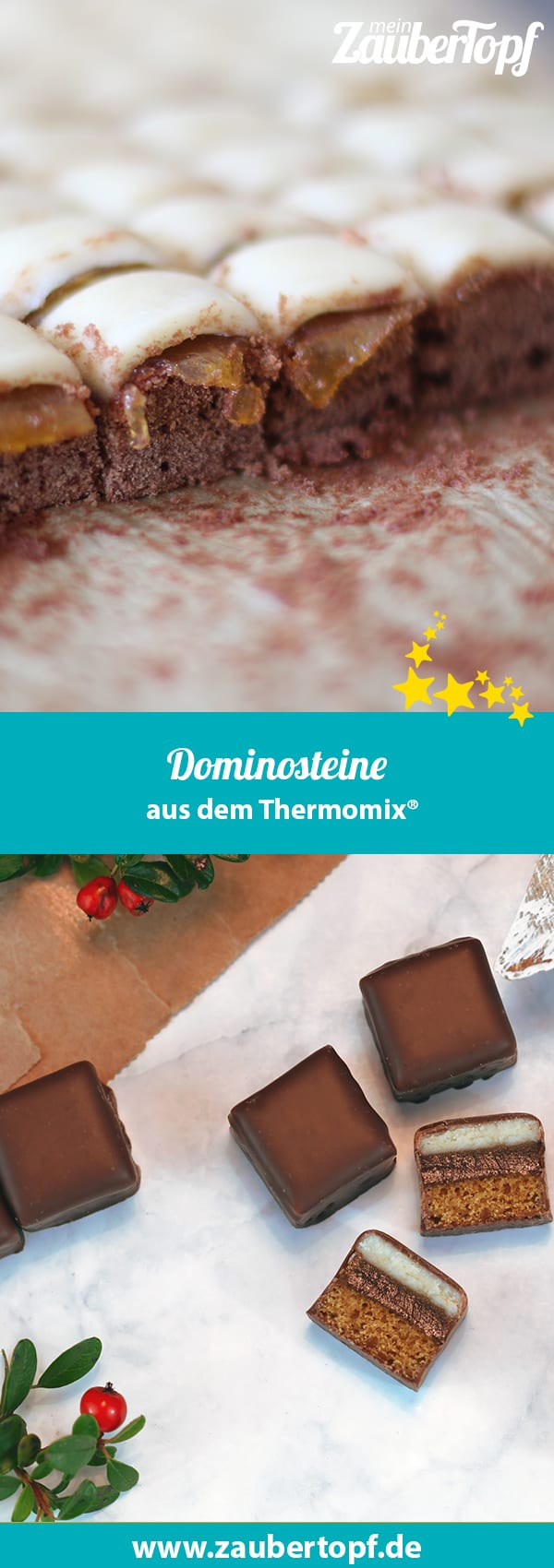 Dominosteine aus dem Thermomix® - Foto: Firn/gettyimages.de