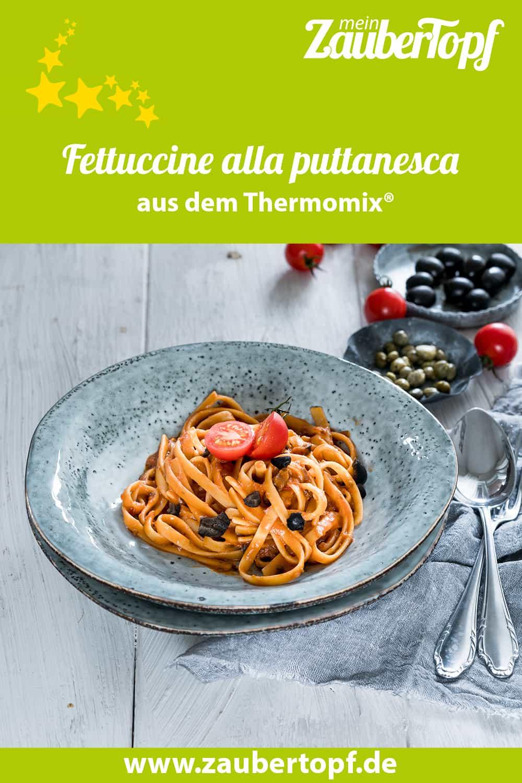 Fettuccine alla puttanesca aus dem Thermomix® - Foto: Tina Bumann