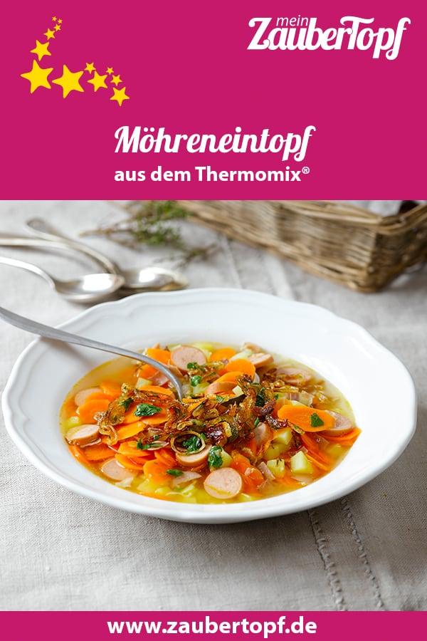 Möhreneintopf mit gerösteten Zwiebeln aus dem Thermomix® - Foto: Frauke Antholz