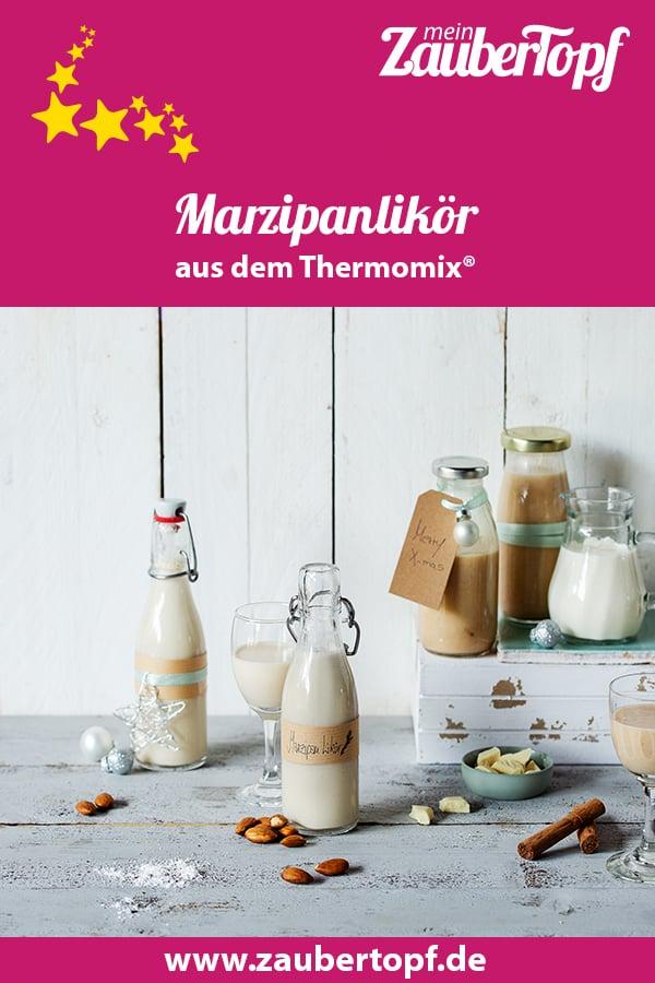 Marzipanlikör aus dem Thermomix® - Foto: Anna Gieseler