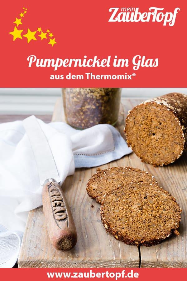 Pumpernickel im Glas mit dem Thermomix® –Foto: Sophia Handschuh
