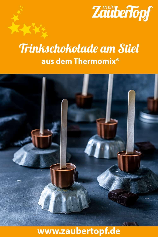 Trinkschokolade am Steil aus dem Thermomix® - Foto: Tina Bumann