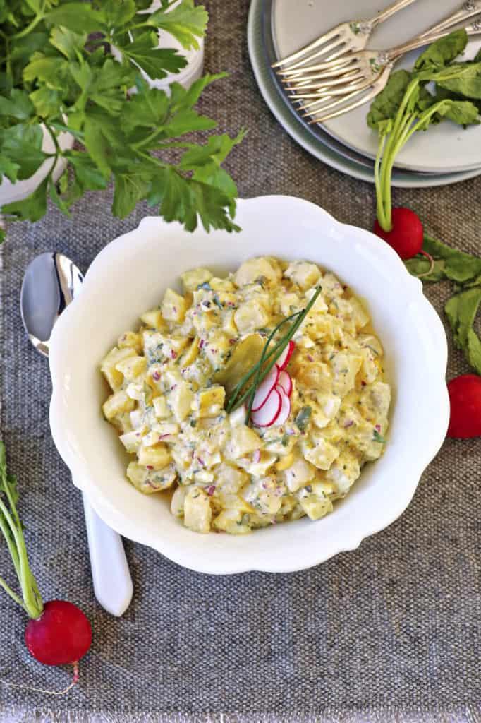Klassischer Kartoffelsalat mit dem Thermomix®