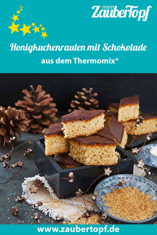 Honigkuchenrauten mit Schokolade aus dem Thermomix® - Foto: Frauke Antholz