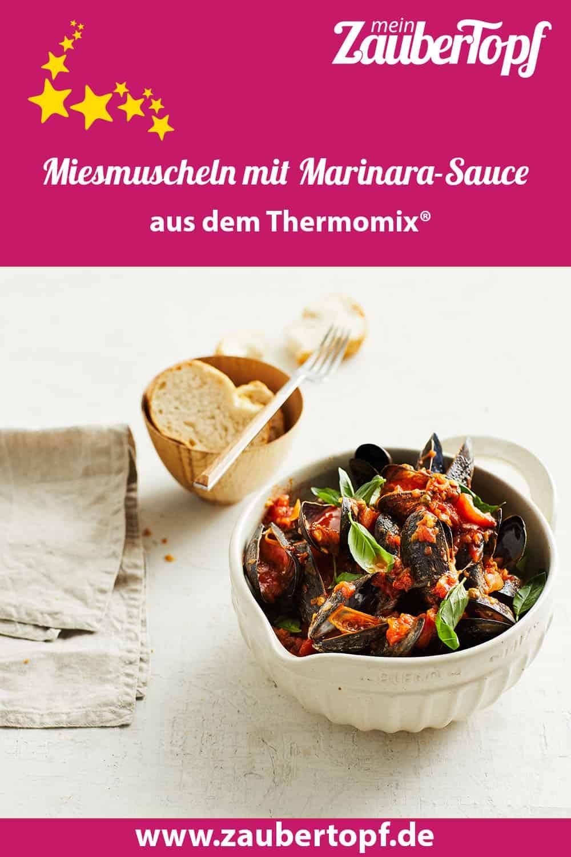 Miesmuscheln mit Marinara-Sauce aus dem Thermomix® - Foto: Jorma Gottwald