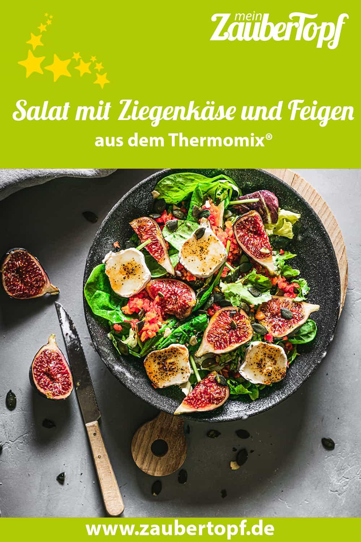 Salat mit Ziegenkäse und Feigen – Foto: Tina Bumann