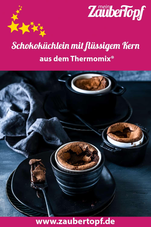 Schokoküchlein mit flüssigem Kern aus dem Thermomix® - Foto: Tina Bumann
