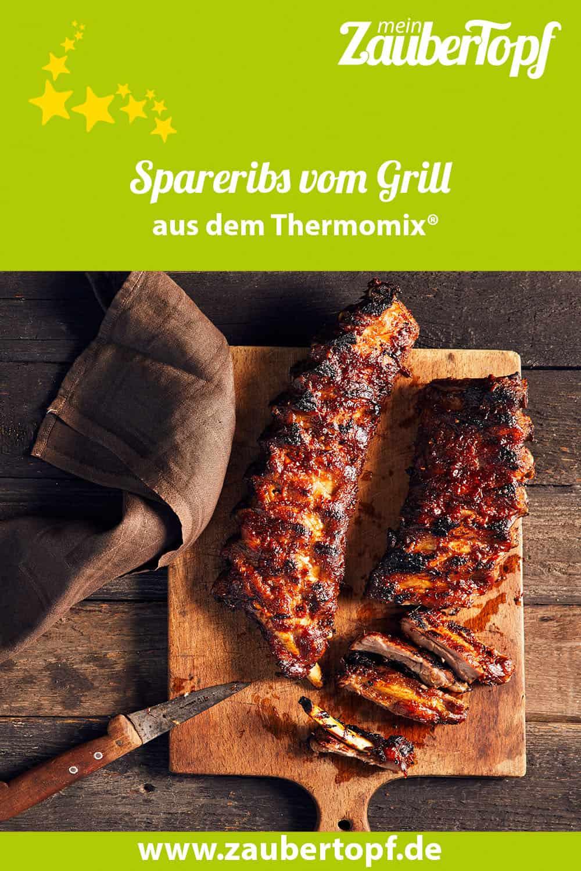 Spareribs vom Grill mit dem Thermomix® - Foto: Jorma Gottwald