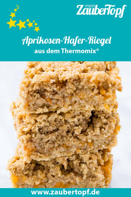 Aprikosen-Hafer-Riegel aus dem Thermomix® - Foto: Sophia Handschuh
