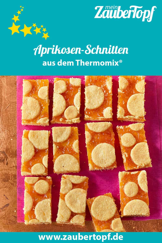 Fruchtige Aprikosen-Schnitten aus dem Thermomix® - Foto: Jorma Gottwald