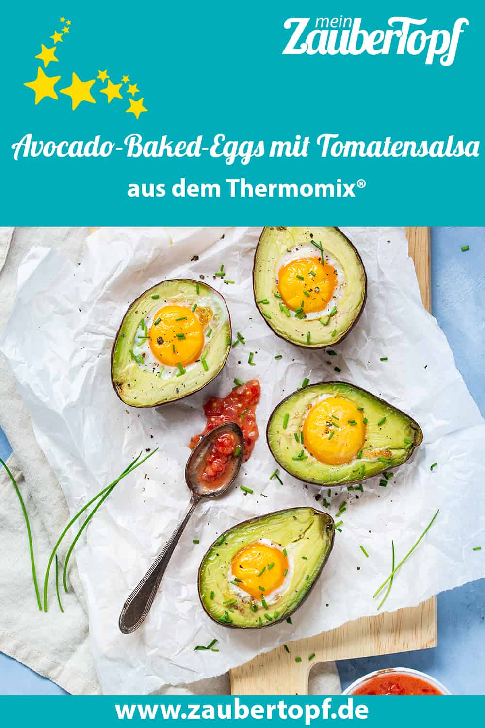 Avocado-Baked-Eggs mit dem Thermomix® –Foto: Kathrin Knoll