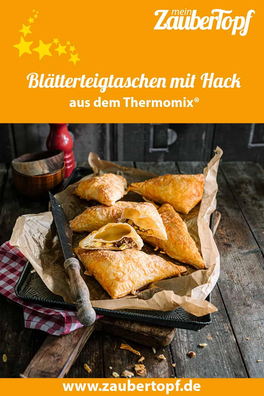 Blätterteigtaschen mit Hack aus dem Thermomix® - Foto: Tina Bumann
