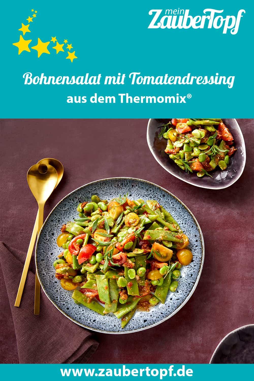 Bohnensalat mit Tomatendressing aus dem Thermomix® - Foto: Marie-Therese Cramer