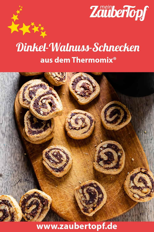 Dinkel-Walnuss-Schnecken aus dem Thermomix® - Foto: Sophia Handschuh